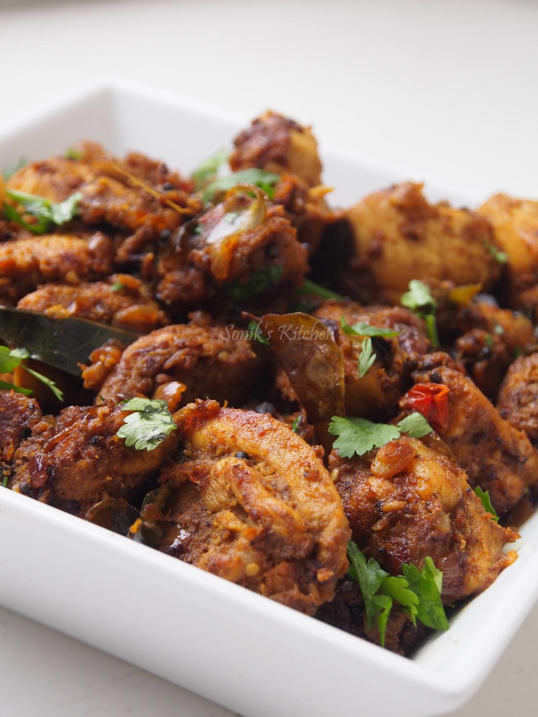 Kodi Vepudu/ Andhra Chicken Fry – Sonik's Kitchen