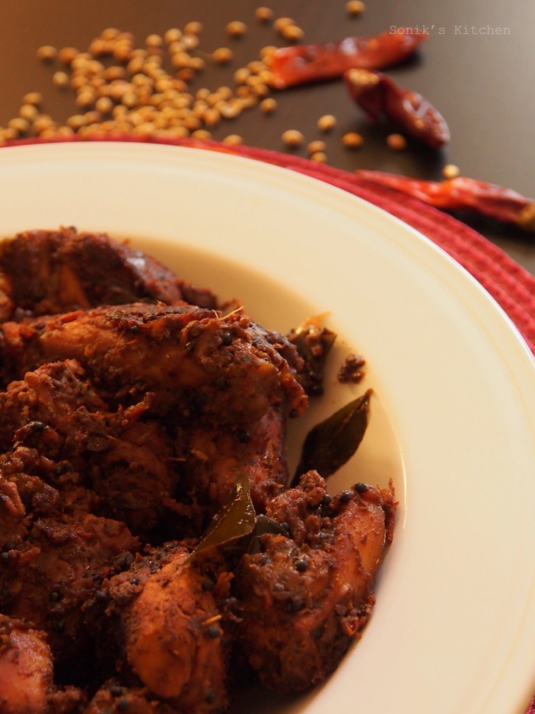 Chettinad Chicken Pepper Fry