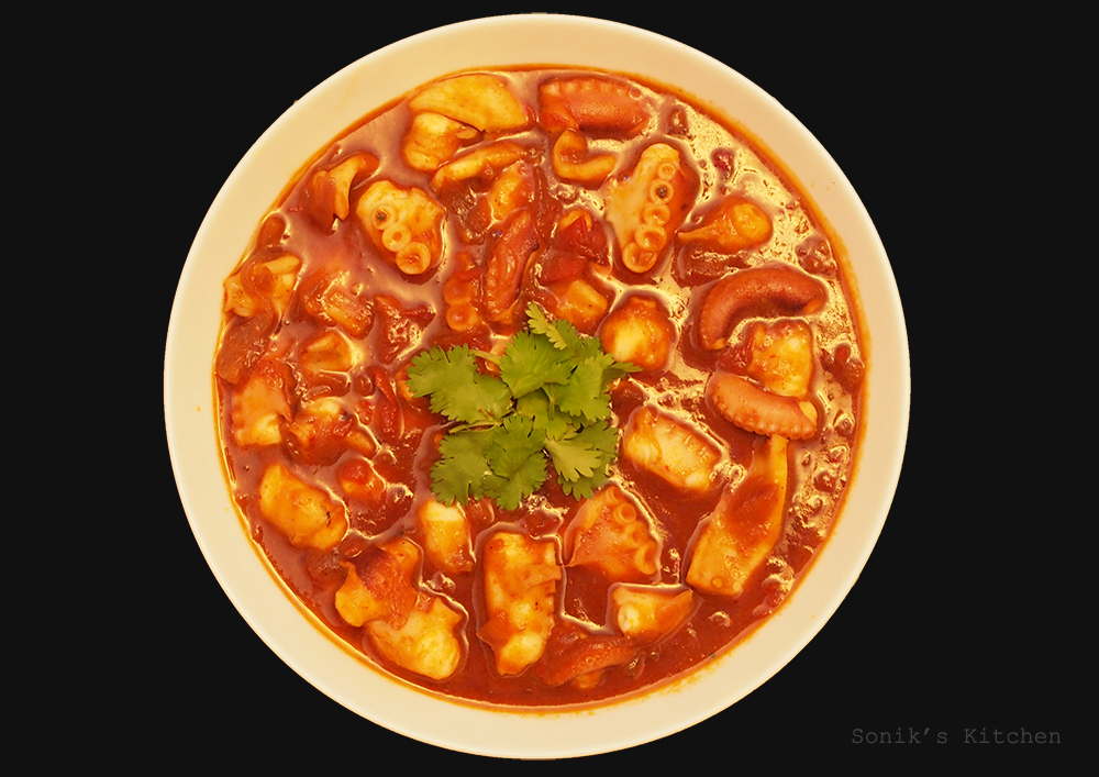 Sambal Sotong/ Spicy Squid