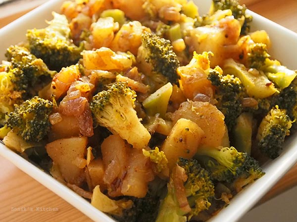 Broccoli & Potato Stir Fry