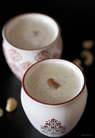 Paal Payasam/ Rice pudding