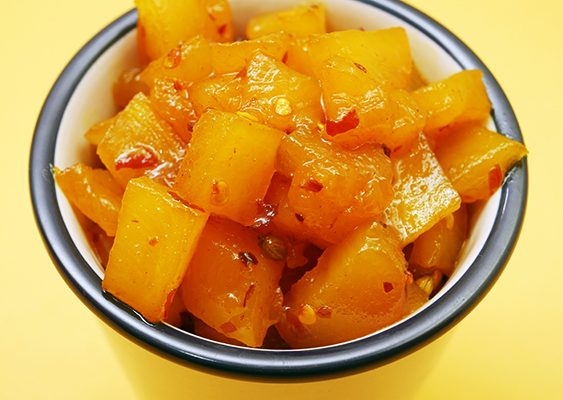 Spiced Pineapple Chutney