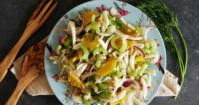 Fennel Celery & Orange Salad