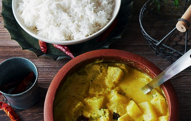 Kumbalanga Moru Curry/ Ash Gourd Curry