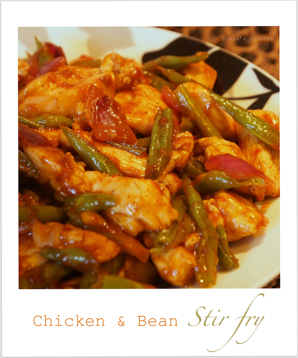 Chicken & Bean Stir Fry