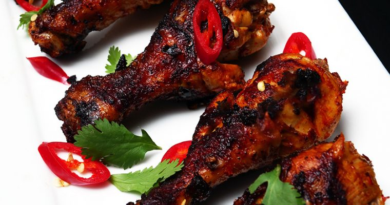Rose Harissa Chicken Drumsticks
